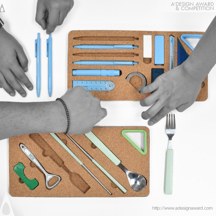 Pei-Hung Lin - A Slice of Tool Stationery and Tool Set