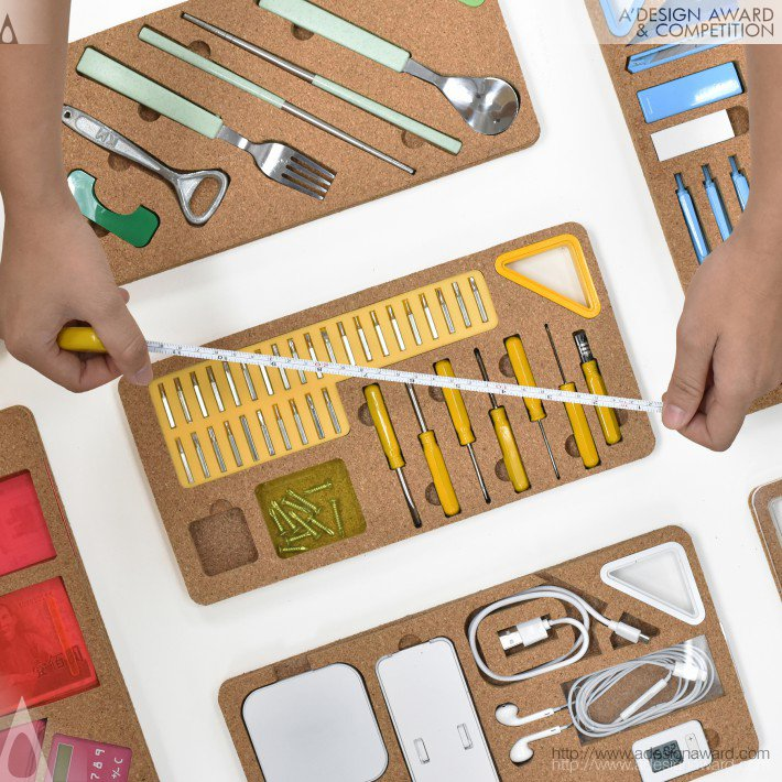 Pei-Hung Lin Stationery and Tool Set