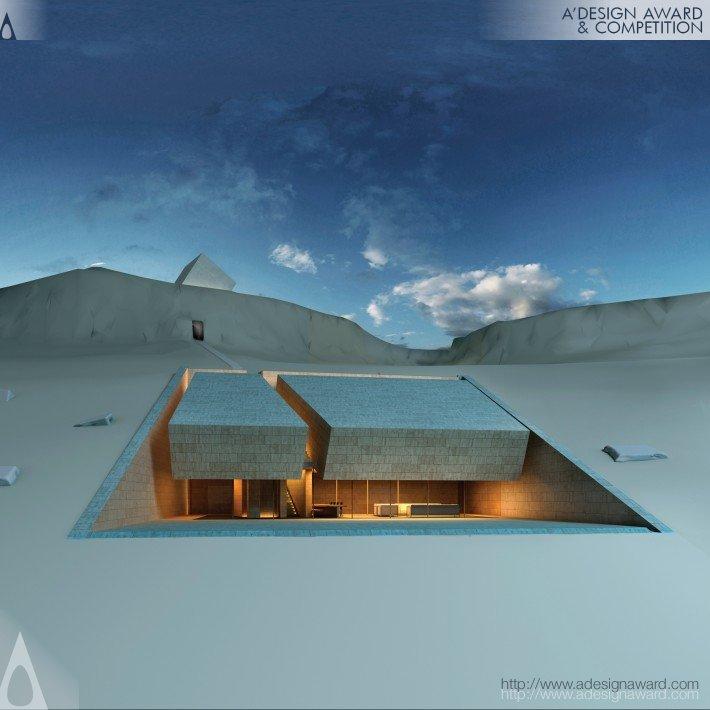 Meditation House (House & Prayer Room Design)