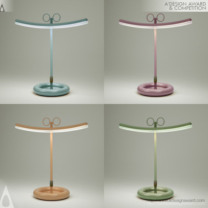 Francesco Cappuccio Desk Table Lamp