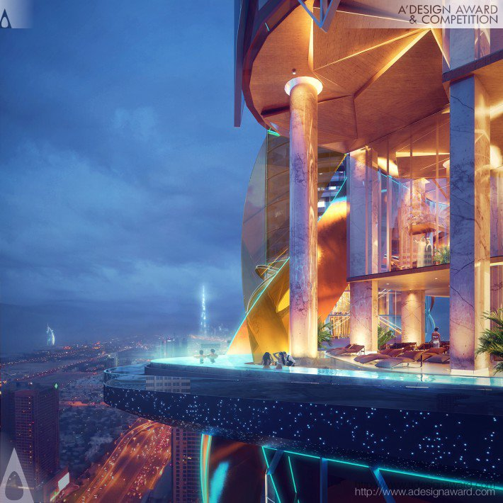 Rosemont Hotel and Residences (Hotel and Serviced Apartments Design)