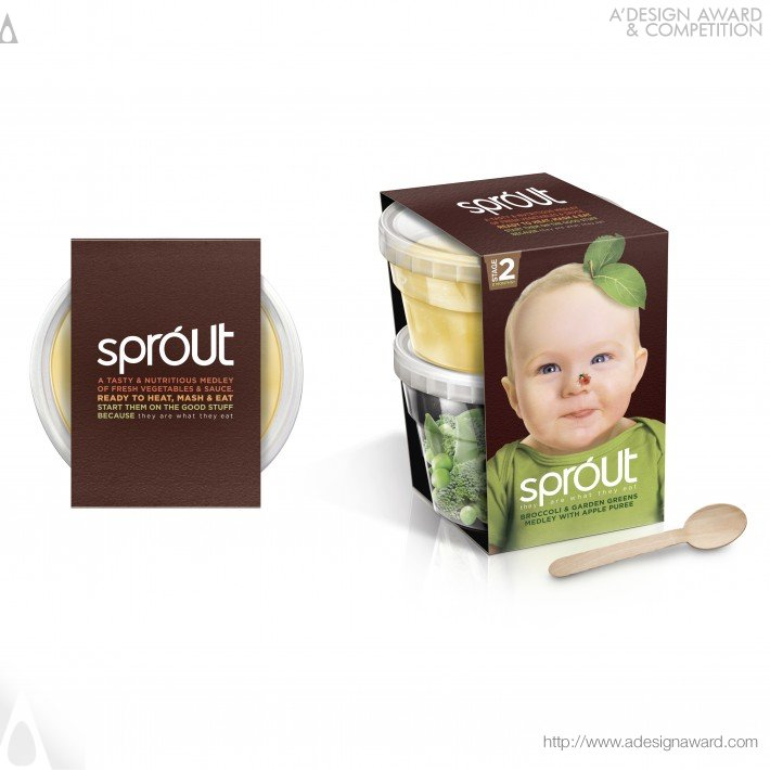 Sprout (Baby Food Brand Design)