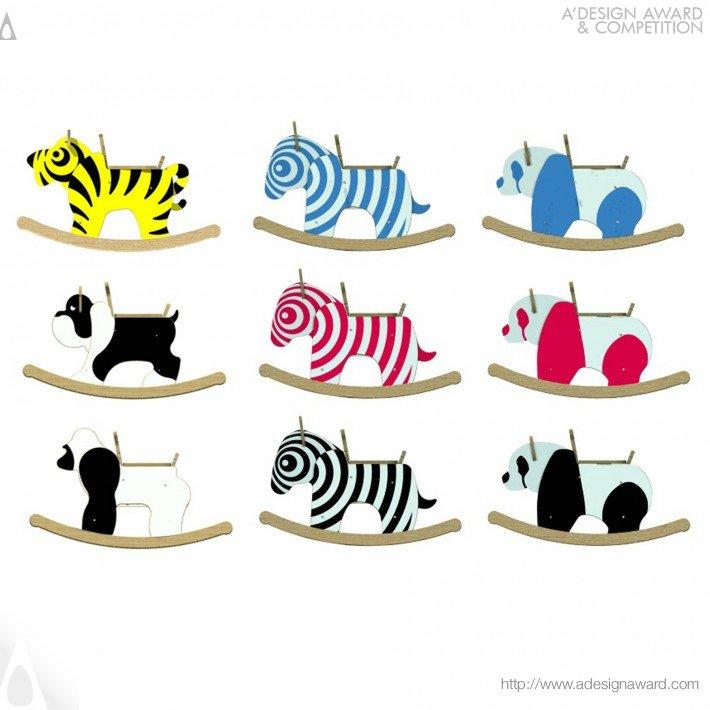 Rocking Zebra (Toy Design)