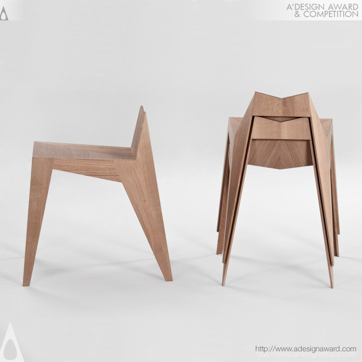 A 39 design award and competition stocker chair stool for Chair design awards