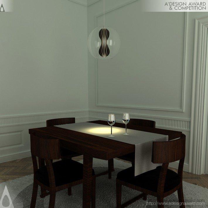 Cellula (Ceiling Lamp Design)
