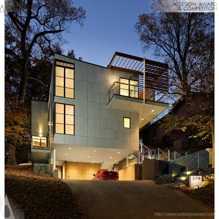 Takoma Park House Residential House by Robert Nichols