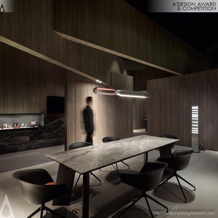 A Free Framework (Showroom Design)