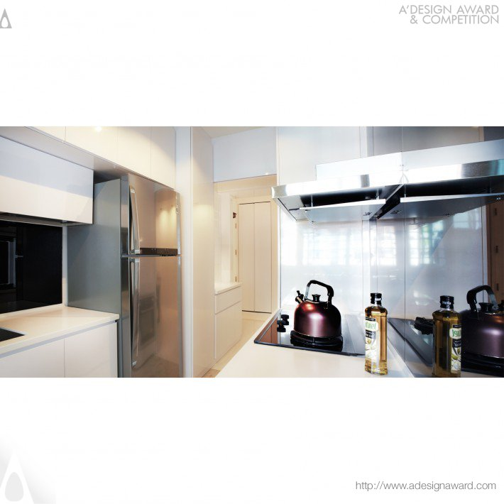 The White Space Apartment (Residential Design Design)