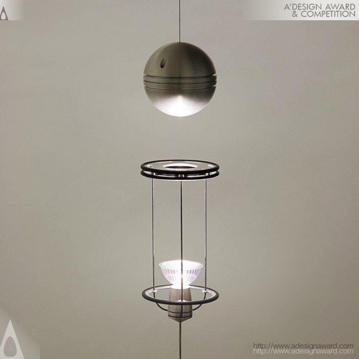 Teslight (Floating Magnetic Lamp Design)