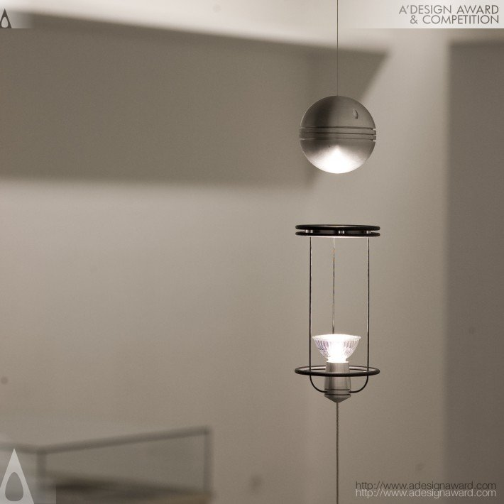 Teslight (Floating Magnetic Lamp Design)