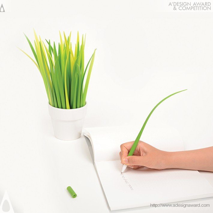 Pooleaf (Plastic Ball Pen Design)