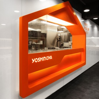 yoshinoya fast food restaurant by as design service limited - Fast Food Store Design