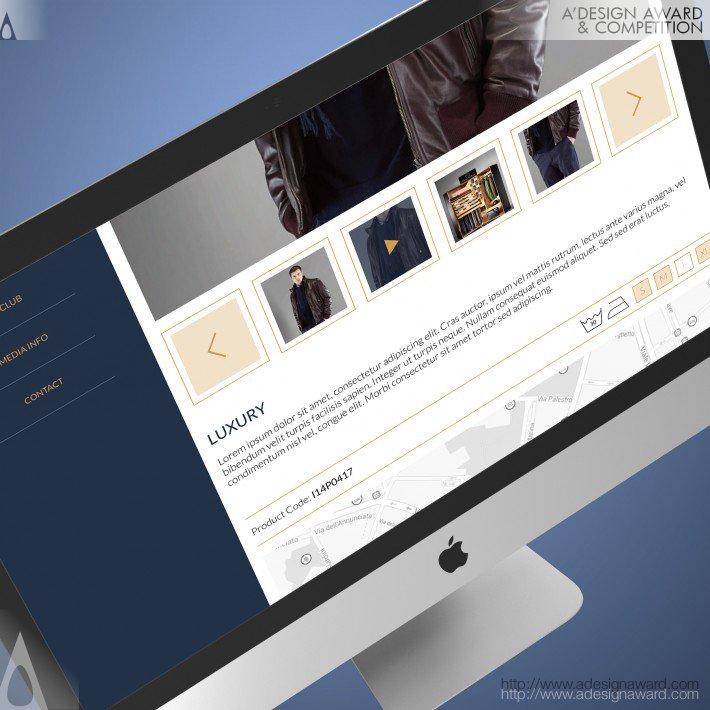 Paul&shark (Responsive Webdesign Design)