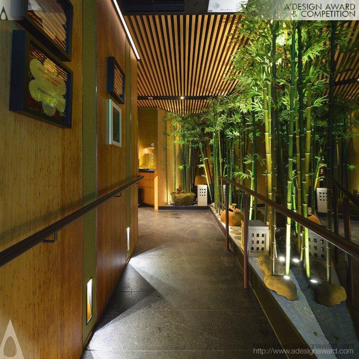 Kaiseki Den (Restaurant Design)