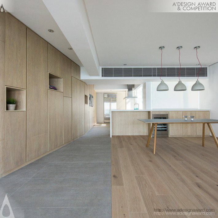 Cabinets Curiosities (Residential Apartment Design)