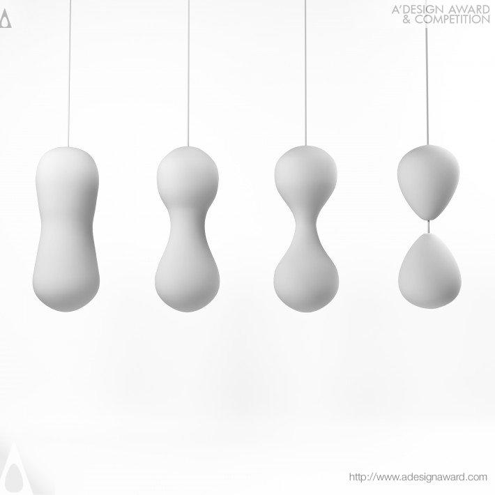 Mitosis (Ceiling Lamp Design)