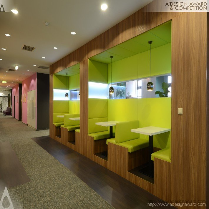 A 39 design award and competition reckitt benckiser office for Unusual interior design