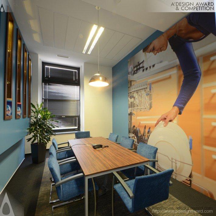 Reckitt Benckiser Office Design (Creative Office Interior Design Design)