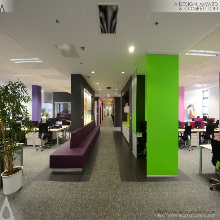 Reckitt Benckiser Office Design Creative Interior By Zoltan Madosfalvi