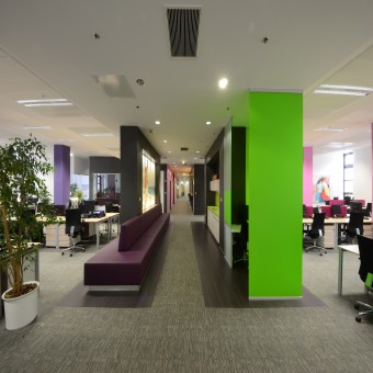 Reckitt Benckiser office design Creative Office Interior Design