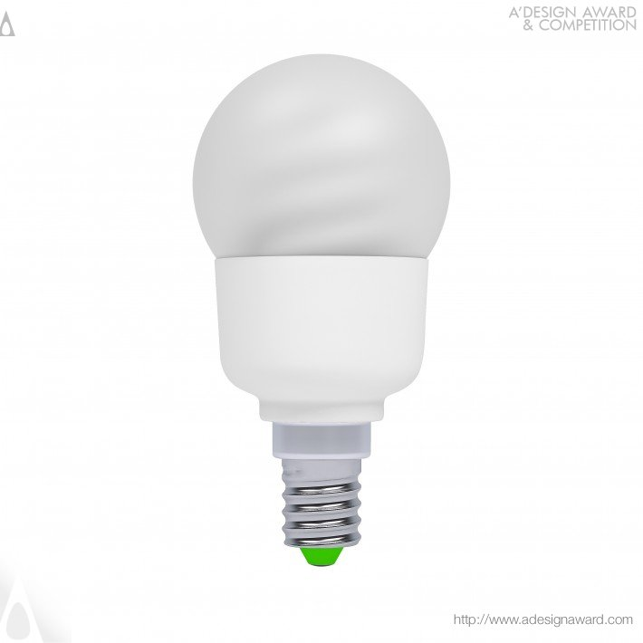 Dahom Cfl Pingpong (Energy Saving Lamp Design)
