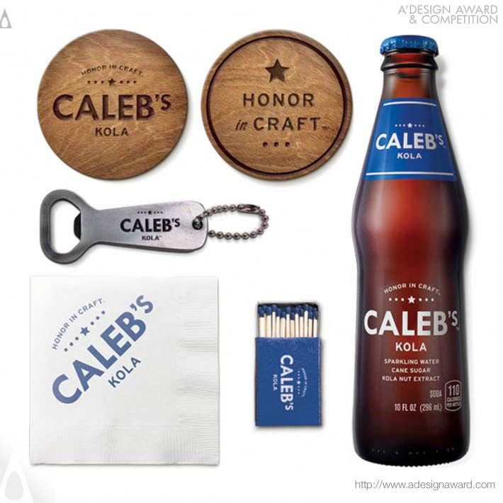 Caleb's Kola (Beverage Brand Design)