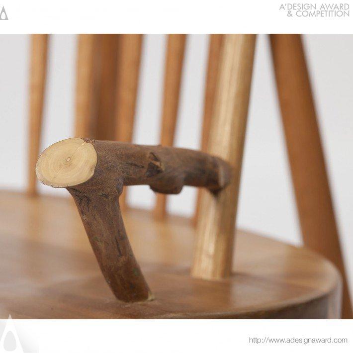 Letter Back Rocker (Rocking Chair Design)