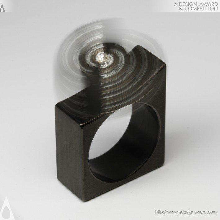 Rk 022-4brs (Kinetic Ring Design)