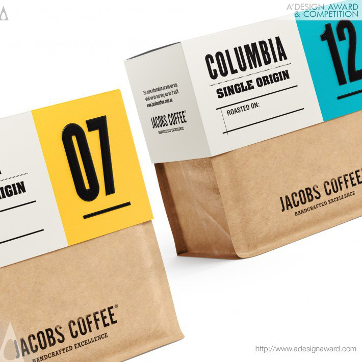 Jacobs Coffee (Coffee Beans Design)