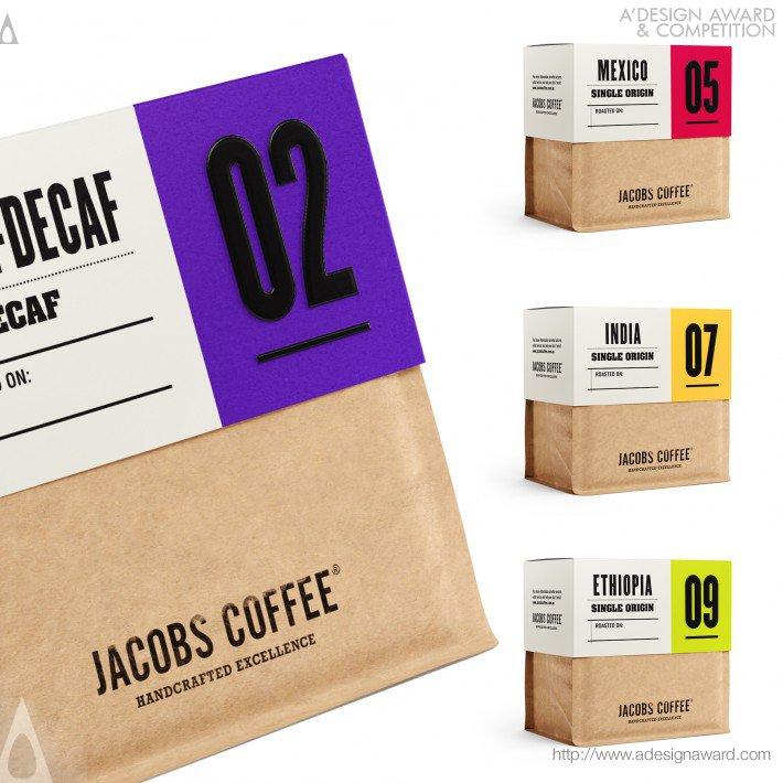 Jacobs Coffee (Coffee Beans Design)
