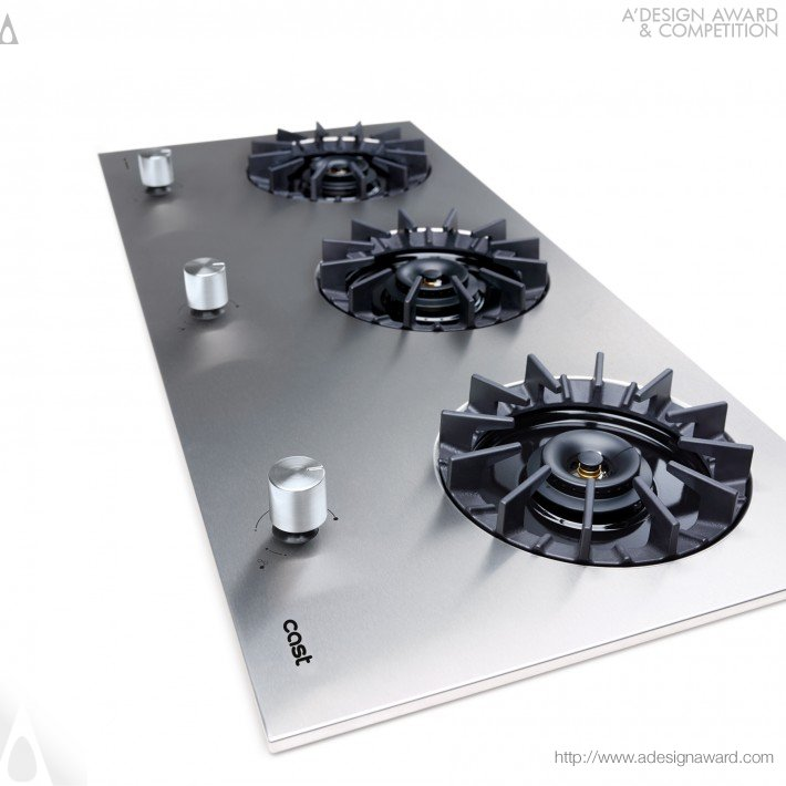 Cast (Built-in Gas Hob Design)