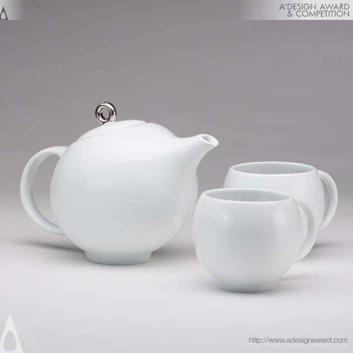 Eva Tea Set (Teapot and Teacups Design)
