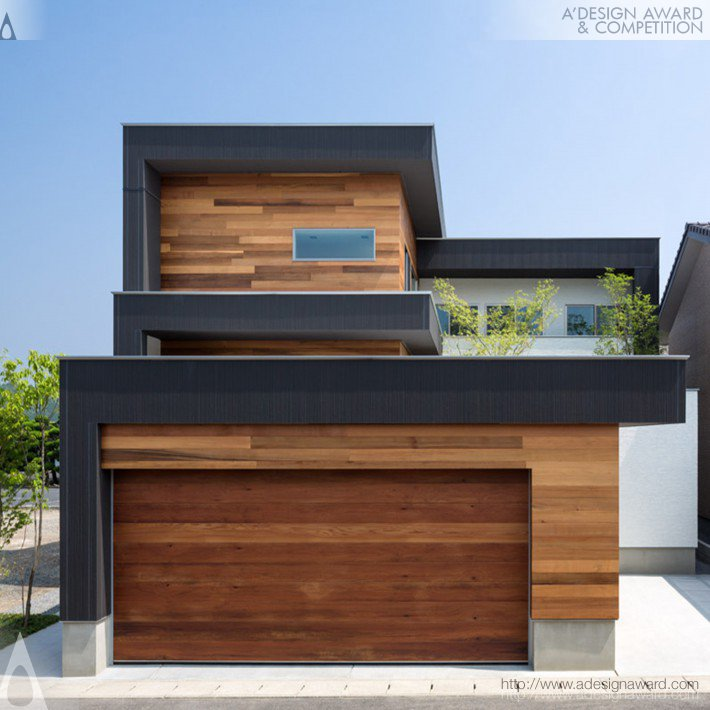 M4-House [ House of Overlap ] (House Design)