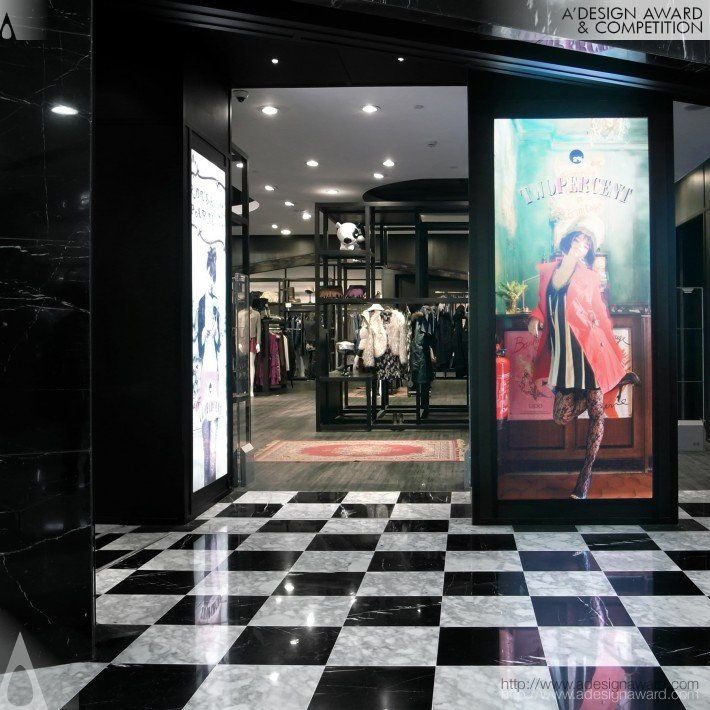 Trend Platter (A Fashion Brand's Chain Store Design)