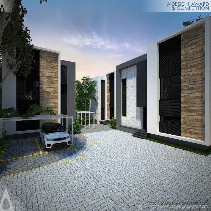 Beto Magalhaes Modern Townhouses