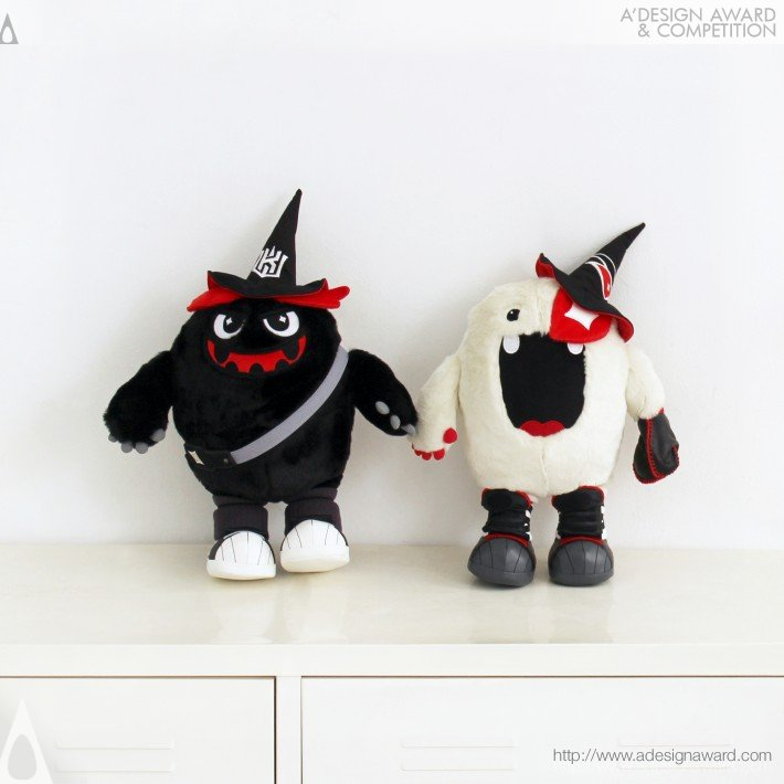 Vic & Ddory (mascot) (Sports Brand Mascot Toy Collection Design)