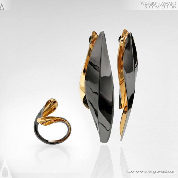 Vivit Collection (Earrings and Ring Design)