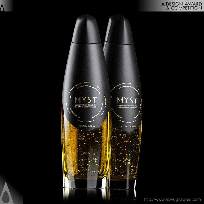 Myst Gold (Bottle Design)