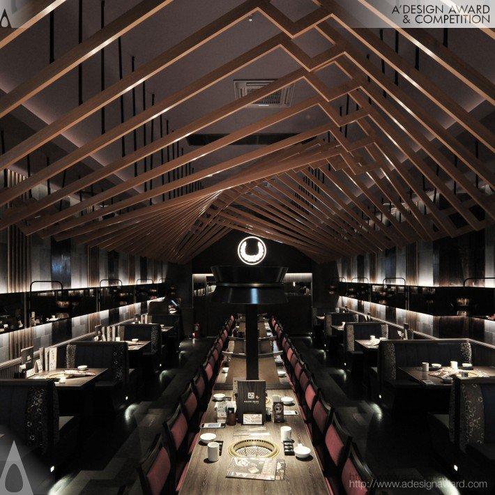 Gyukaku Festivalwalk (Restaurant Design)