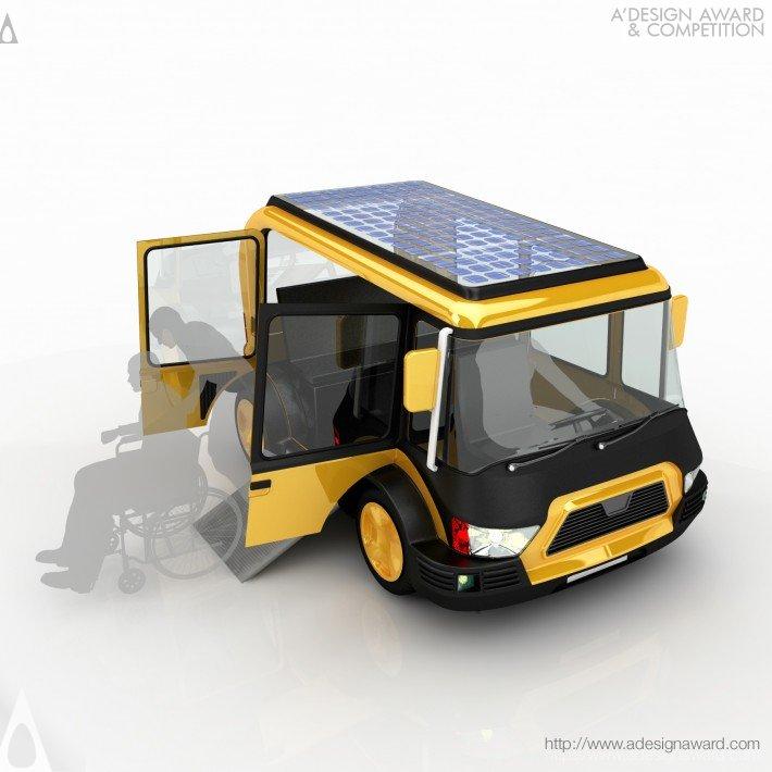 Solar Taxi (Vehicle Design)