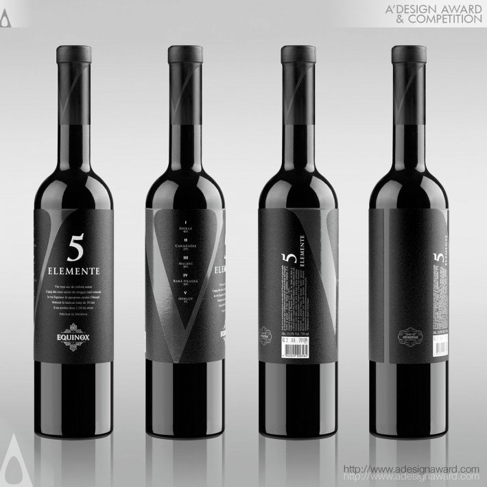 5 Elemente (Wine Label Design)