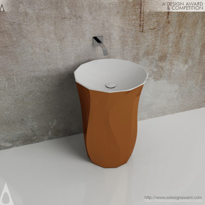 Flamma Washbasin by Isvea Eurasia