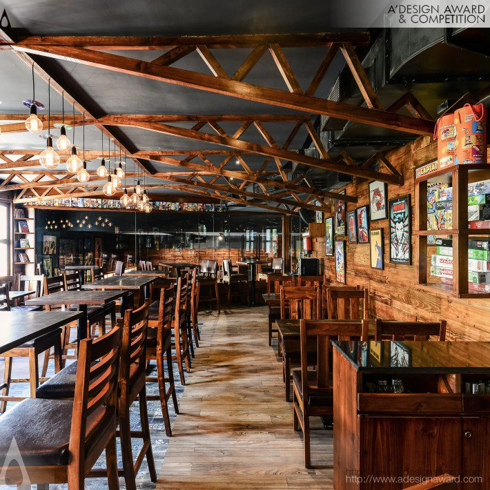 Restaurant and Bar by Ketan Jawdekar