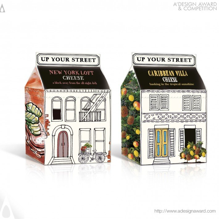 Up Your Street (Cottage Cheese Design)