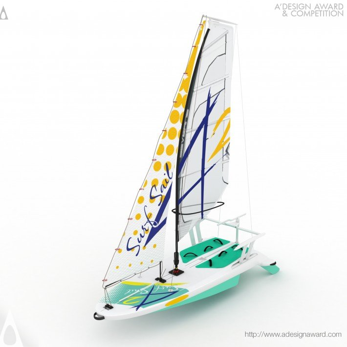 Surfsail42 (Sailboard For Windsurfing and Sailing Design)