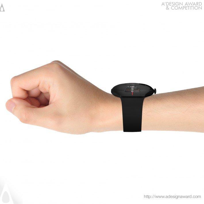 Wave Watch (Wrist Watch Design)