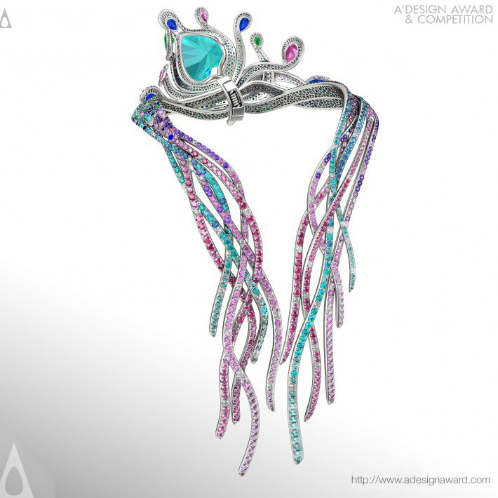 Colorfall (Necklace Design)