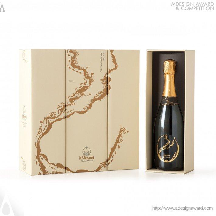 Il Mosnel Qde 2012 (Sparkling Wine Label and Pack Design)