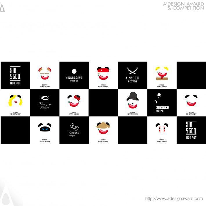 Xin Sgcq Hotpot (Logo and Vi Design)