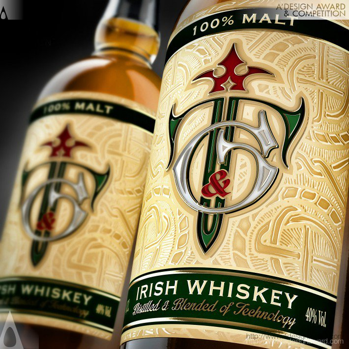 T and G Whiskey Packaging Design by Valerii Sumilov